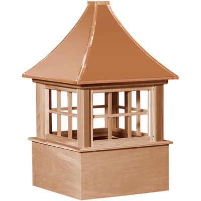 Select Carlisle Cedar Cupola With Windows