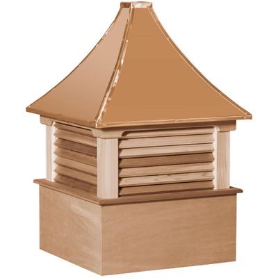 Select Morton Cedar Cupola With Louvers