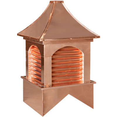 Estate Dalton Copper Cupola With Louvers