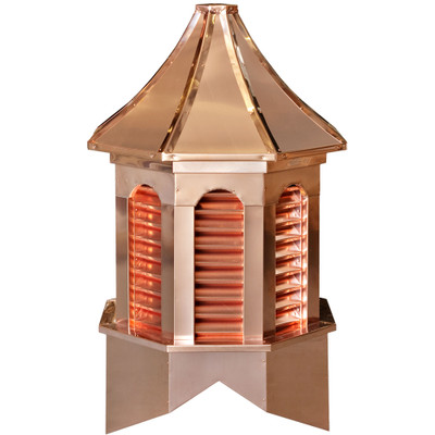 Estate Kingston Copper Cupola With Louvers