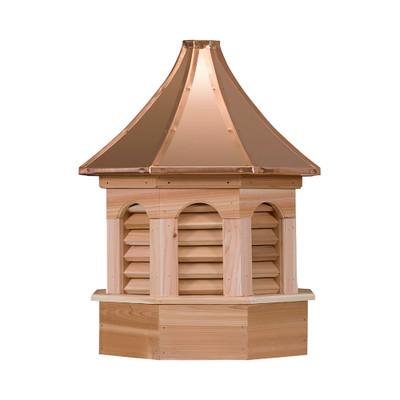 Kingston Gazebo Cedar Cupola With Louvers