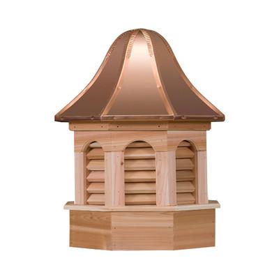 Pinnacle Gazebo Cedar Cupola With Louvers