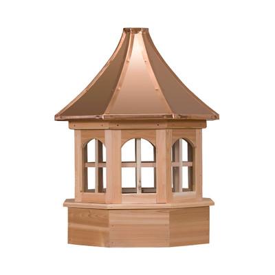 Salisbury Gazebo Cedar Cupola With Windows