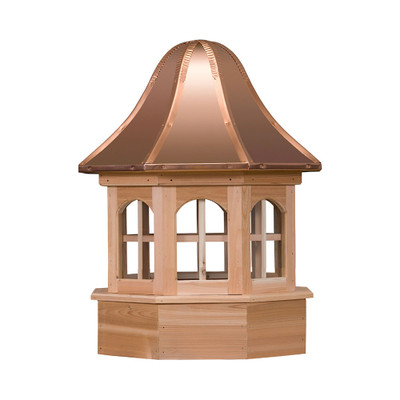 Villa Gazebo Cedar Cupola With Windows