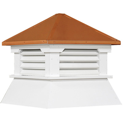 Classic Shed Vinyl Cupola With Louvers