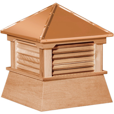 Classic Shed Cedar Cupola With Louvers