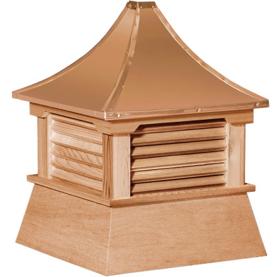 Elite Shed Cedar Cupola With Louvers