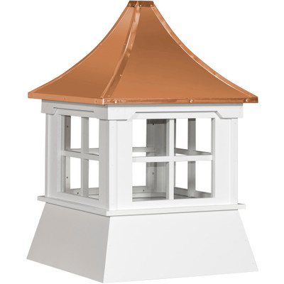 Victorian Shed Vinyl Cupola With Windows