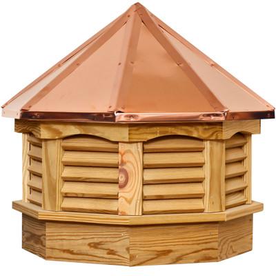 Gazebo Pine Cupola With Louvers