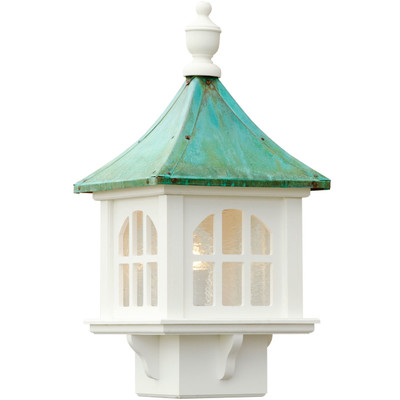 Vinyl Cupola Patina Copper Roof Lantern