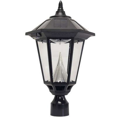 Windsor Black Solar Lantern