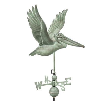Pelican Verde Copper Weathervane