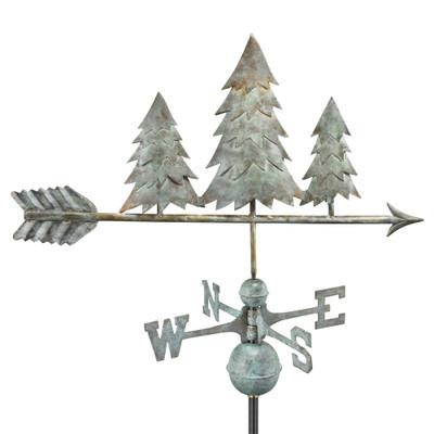 Three Pines Verde Copper Weathervane