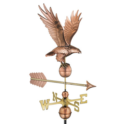 Freedom Eagle Copper Weathervane