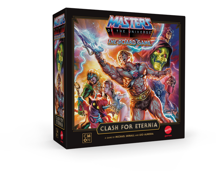 Masters of the Universe: The Board Game - Clash for Eternia Kickstarter Edition
