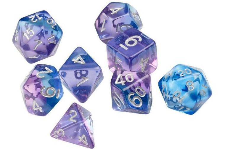 RPG Dice Set (7): Violet Betta