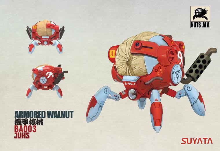 Suyata Mobile Armor - Armored Nut Walnut Plastic Model