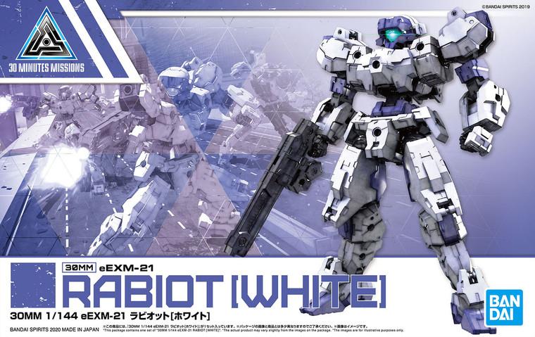 30MM 1/144 eEXM-21 RABIOT [WHITE]