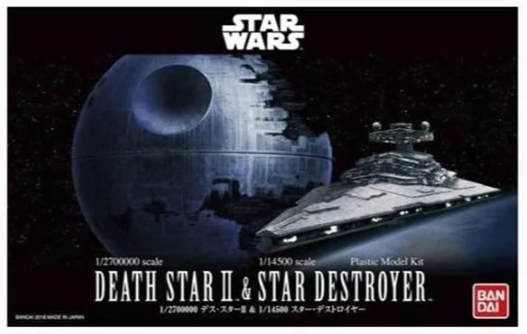 1/270000 DEATH STAR II & 1/14500 STAR DESTROYER