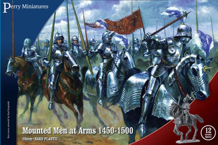 MOUNTED MEN AT ARMS 1450 - 1500