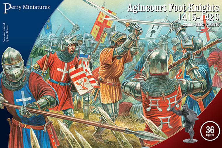 AGINCOURT FOOT KNIGHTS 1415 - 1429