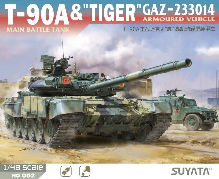 1/48 - T-90A & GAZ-233014 Tiger - SUYATA 002