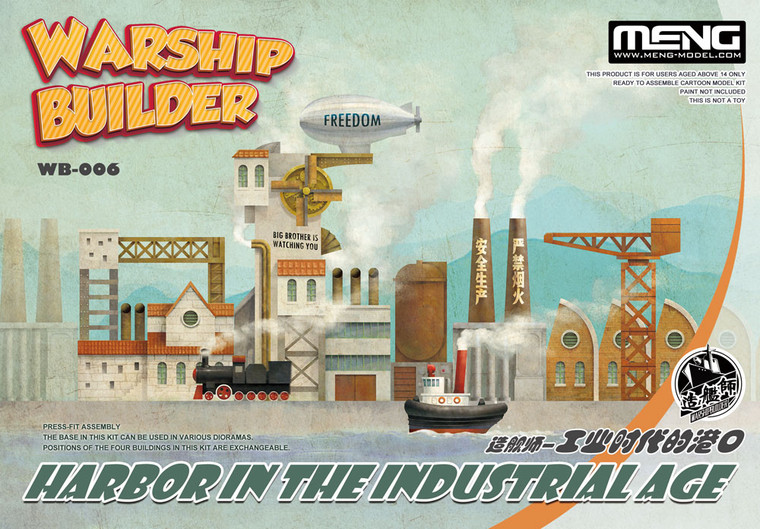 Meng WARSHIP BUILDER - HARBOR IN THE INDUSTRIAL AGE