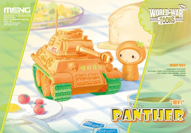 Meng World War Toons - Orange Panther