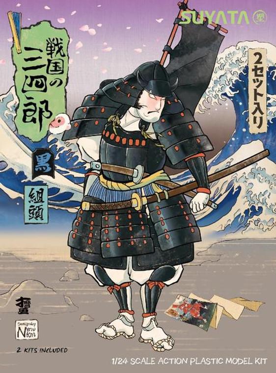 1/24 SANNSHIROU FROM THE SENGOKU-KUMIGASIRA WITH RED ARMOR