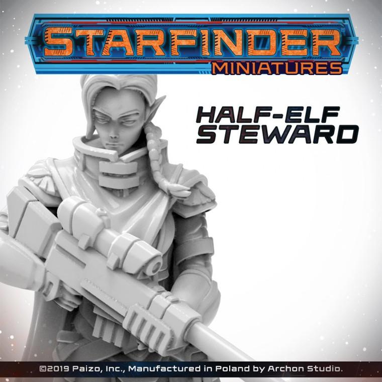 Starfinder: Half-Elf Steward