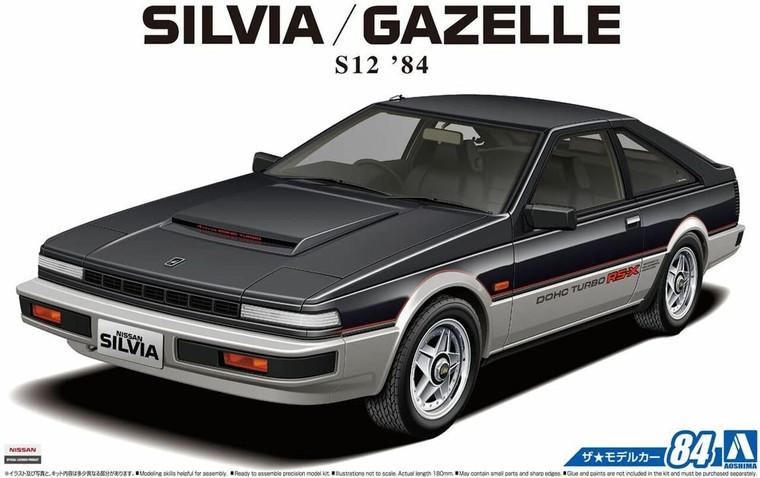 1/24 NISSAN S12 SILVIA/GAZELLE TURBO RS-X '84