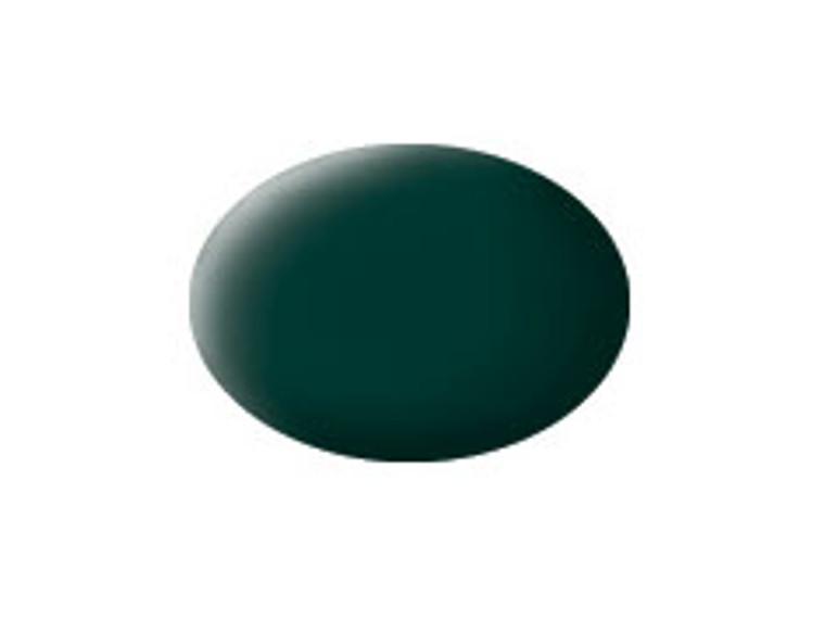 RVL36140 Black Green Acrylic Matt
