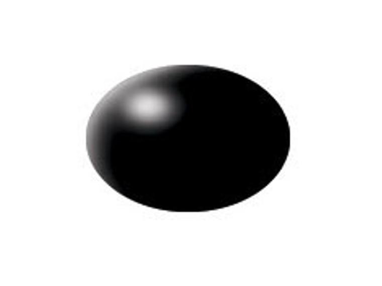 RVL36302 Black Acrylic Semi Gloss RAL9005