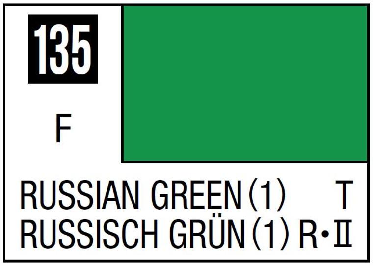 Mr. Color 135 Flat Russian Green (1) 10ml, GSI