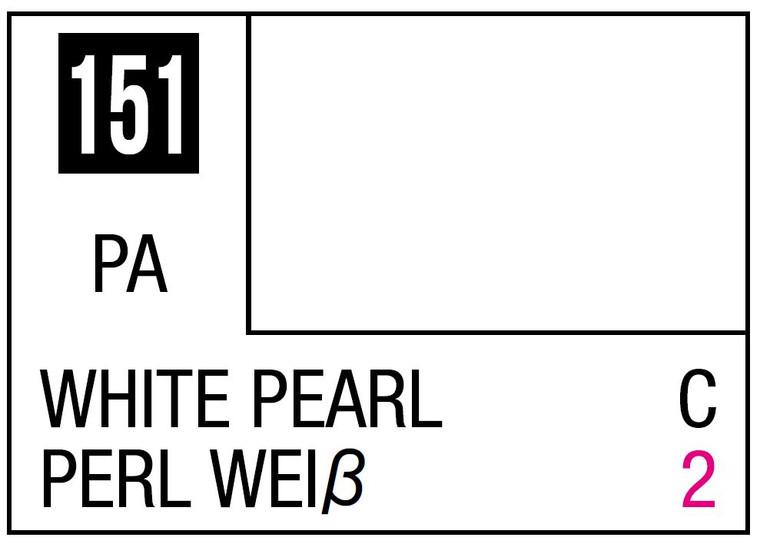 Mr. Color 151 Pearl White 10ml, GSI