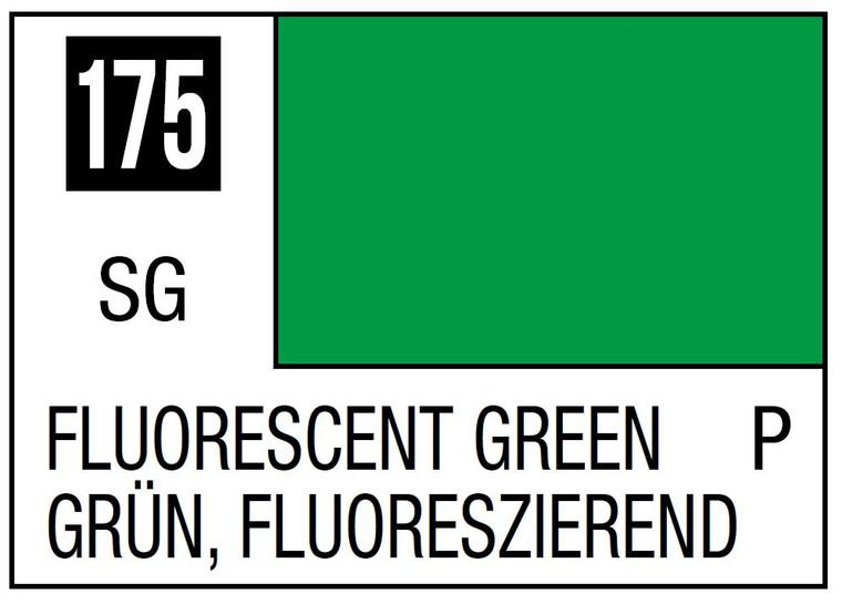 Mr. Color 175 Semi Gloss Fluorescent Green 10ml, GSI