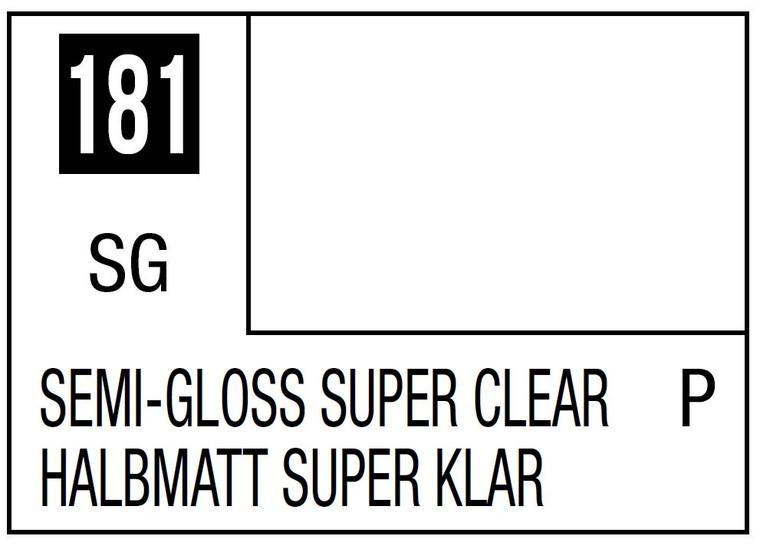 Mr. Color 181 Semi Gloss Super Clear 10ml, GSI