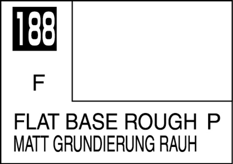 Mr. Color 188 Flat Base Rough 10ml, GSI