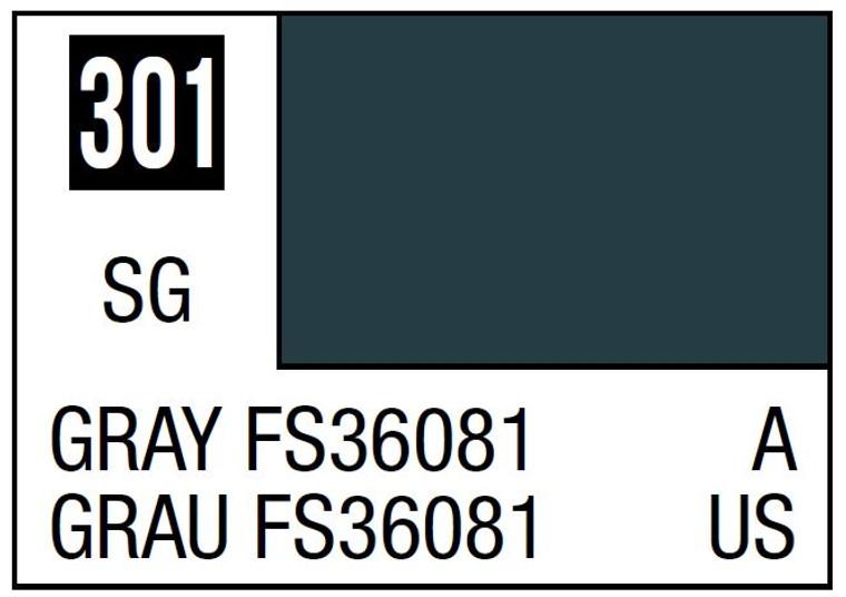 Mr. Color 301 Semi Gloss Grey FS36081 10ml, GSI