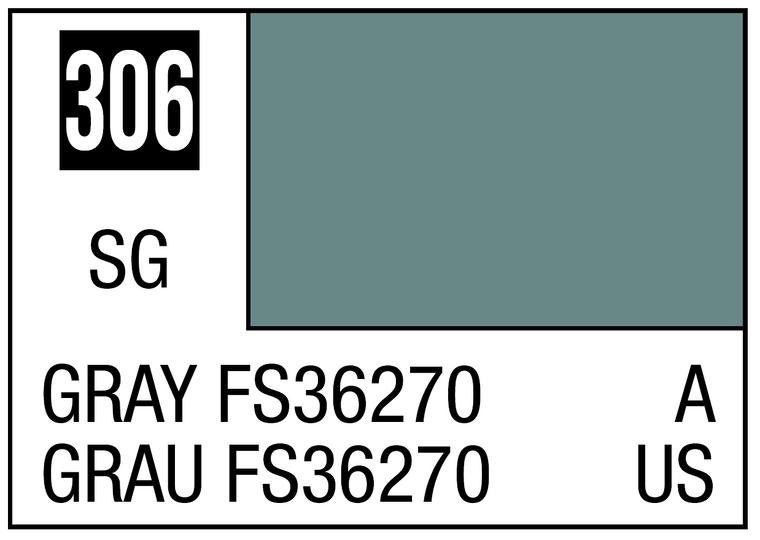 Mr. Color 306 Semi Gloss Gray FS36270 10ml, GSI