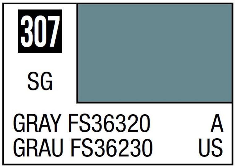 Mr. Color 307 Semi Gloss Gray FS36320 10ml, GSI