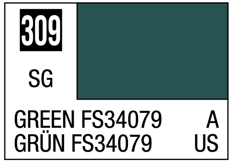 Mr. Color 309 Semi Gloss Green FS34079 10ml, GSI