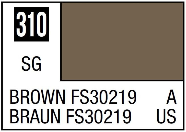 Mr. Color 310 Semi Gloss Brown FS30219 10ml, GSI