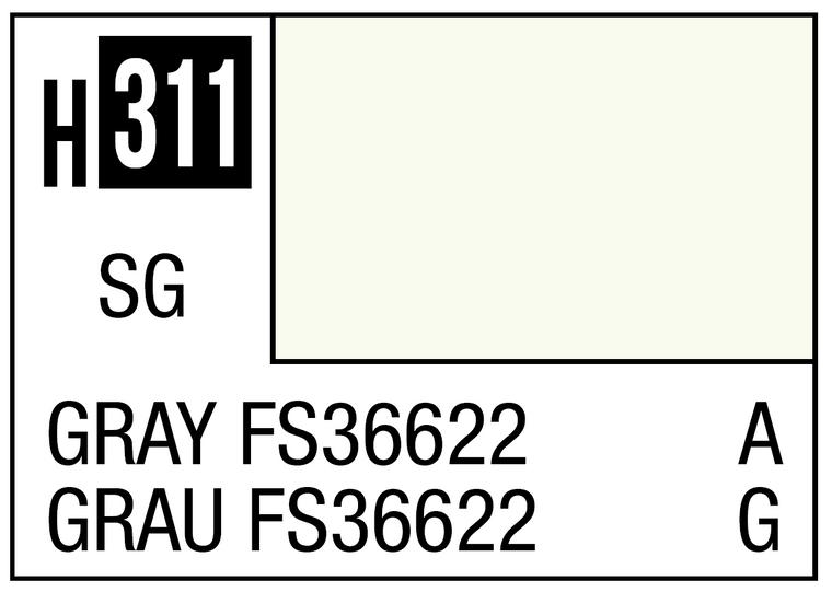 Mr. Color 311 Semi Gloss Gray FS36622 10ml, GSI