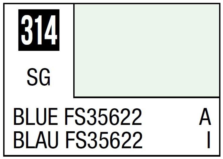 Mr. Color 314 Semi Gloss Blue FS35622 10ml, GSI