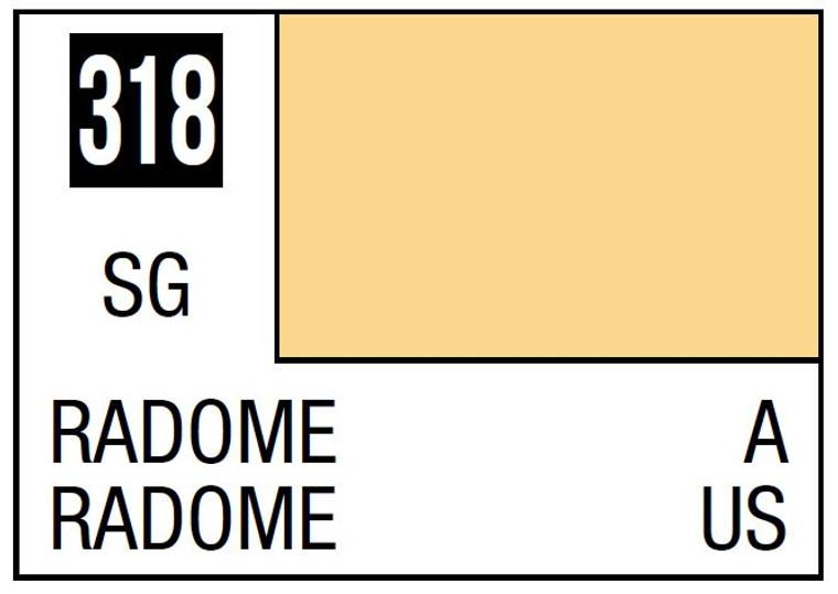 Mr. Color 318 Semi Gloss Radome 10ml, GSI