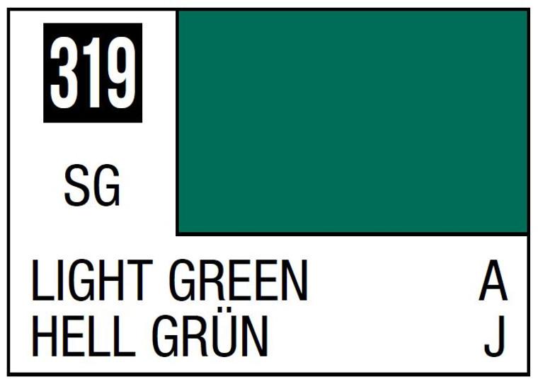 Mr. Color 319 Semi Gloss Light Green 10ml, GSI