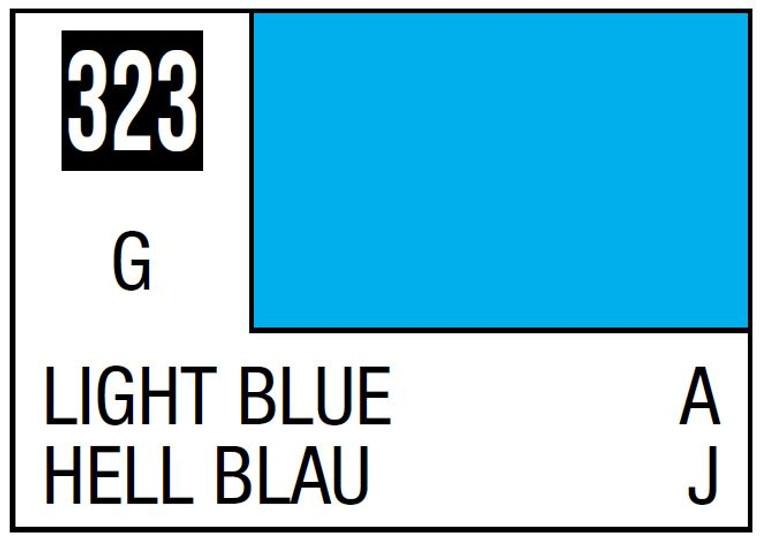 Mr. Color 323 Light Blue (Gloss/Aircraft) - 10ml