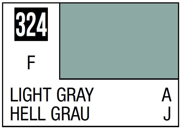 Mr. Color 324 Flat Light Gray JASDF COCKPIT 10ml, GSI