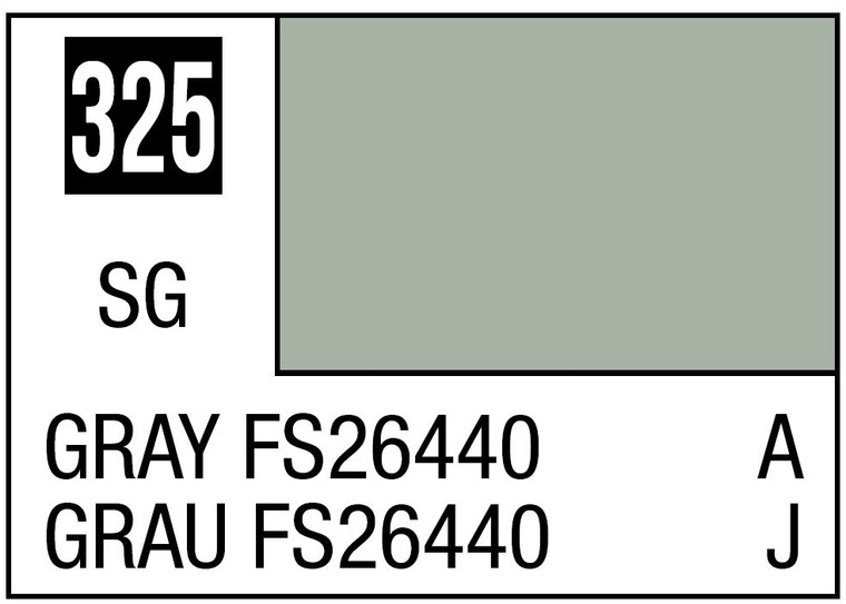 Mr. Color 325 - Semi Gloss Gray FS26440 - 10ml